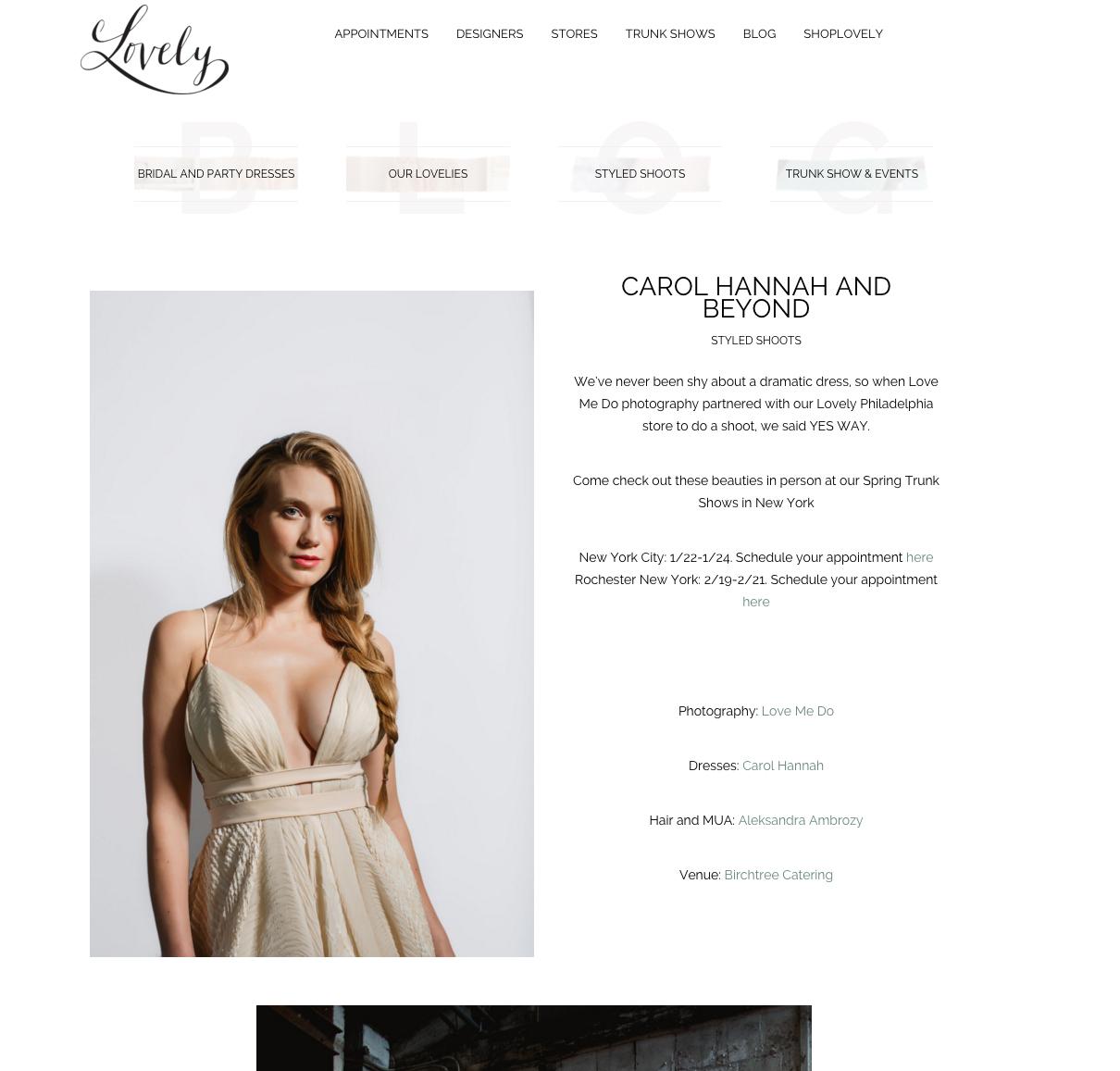 Lovely Bride Blog