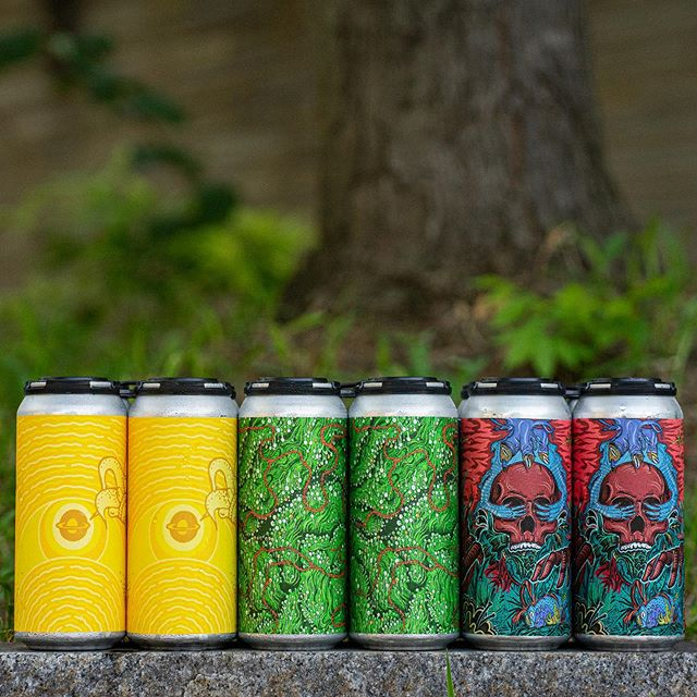We will have cans of Pineapple Milkshake IPA, PUNGE, and Gatherer 2019 available to purchase today when doors open at 5:00pm!
