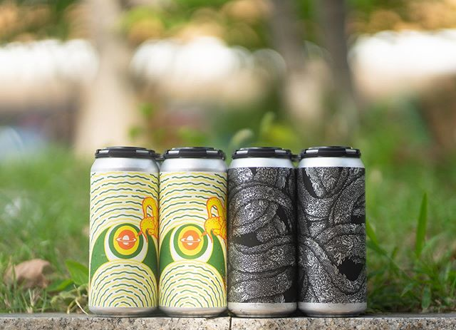 TODAY, when we open the doors at 5:00pm, we will have hyper fresh cans of Ramos Gin Fizz Milkshake IPA and Photosynthesizing Tongue! . Ramos Gin Fizz Milkshake IPA is the return of one of our favorite iterations in our ever-evolving, genre defining, culinary IPA series. Brewed with copious amounts of oats, wheat, and lactose sugar. Conditioned atop an abundance of luscious Madagascar vanilla beans and a blend of heavy amounts of lemon & lime purées, dried juniper berries, and a heady dash of orange blossom. Dreamt up with our forever loving friends @omnipollo and inspired by our favorite 25 minute cocktail from down south. Notes of candied meyer lemon, vanilla sorbetto, tart citrus curd, mango leather, high-toned botanicals, and powder coated citrus candies. 7.2% abv. $22 per four pack. . Photosynthesizing Tongue is ourReptoid Double IPA. Brewed to be a massive double version of our psycho pan-dimensional Reptoid IPA Alien Church. Composed with fluffy oats and hopped with Cascade & Columbus. Dry hopped super aggressively with Citra, Mosaic, and Chinook from our latest selections in Yakima, Washington. Notes of grapefruit zest, drippy cantaloupe, overripe mango, honeysuckle, lime granita, and guava custard. 9.0% abv. $20 per four pack. . You are welcome to BYOFood to our garten and you are always welcome to bring that PMA.