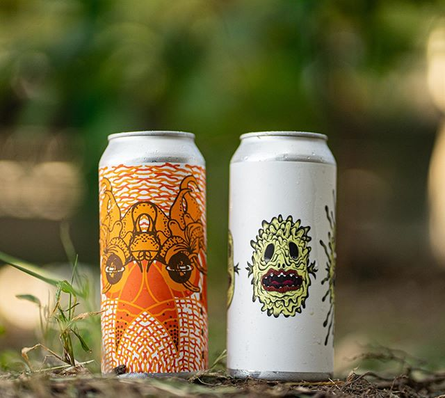 Tomorrow, when doors open at 5:00pm, we will be releasing hyper fresh cans of Peach Cobbler Double Milkshake IPA and Death Tripper! . Peach Cobbler Double Milkshake IPA is a new iteration of our boundary pushing Culinary IPA series. Brewed with pillowy oats, malted wheat, and lactose sugar. Conditioned on a ridiculous amount of peach purée (quadruple the amount than we normally use) as well as whole Madagascar vanilla beans. Dry hopped intensely with Citra & Mosaic from our 2018 selections and conditioned atop heaps of traditional baking spices. Conceived in eternal return with our comrades from @Omnipollo. Notes of orange oleo, peach bubblegum, homemade pie crust, fragrant baking spices, and mom-mom's kitchen during the Fall. 9.2% abv. $24 per four pack. One case per person. . Death Tripper is our (mostly) Galaxy and (a bit of) Simcoe IPA! One of our favorites from our BrewCafé. Brewed with tons of oats and wheat, and hopped very lightly in the kettle for a very light and approachable bitterness. Hopped very aggressively post-fermentation with Simcoe and Australian Galaxy. Straight-forward, pungent, and inevitable. Notes of peach rings, gooseberry jam, piña colada, Mandarin orange, and pink guava. 6.66% abv. $18 per four pack. One case per person. . #dreambeer