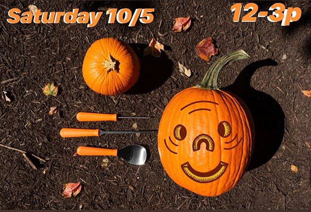 We'd like to welcome all you strange & beautiful people young & wise to join us this Saturday 10/5 from 12-3p at our High Harvest Biergarten for an afternoon of pumpkin carving! . We'll have carving kits and pumpkins for y'all but feel free to bring your own as well! No charge for the event unless you would like to take yr pumpkin(s) home with you. However we would love to decorate our Biergarten with our lovely neighbors' works of art =) . Any questions? Send us an email at info@tiredhands.com. See you all soon =)