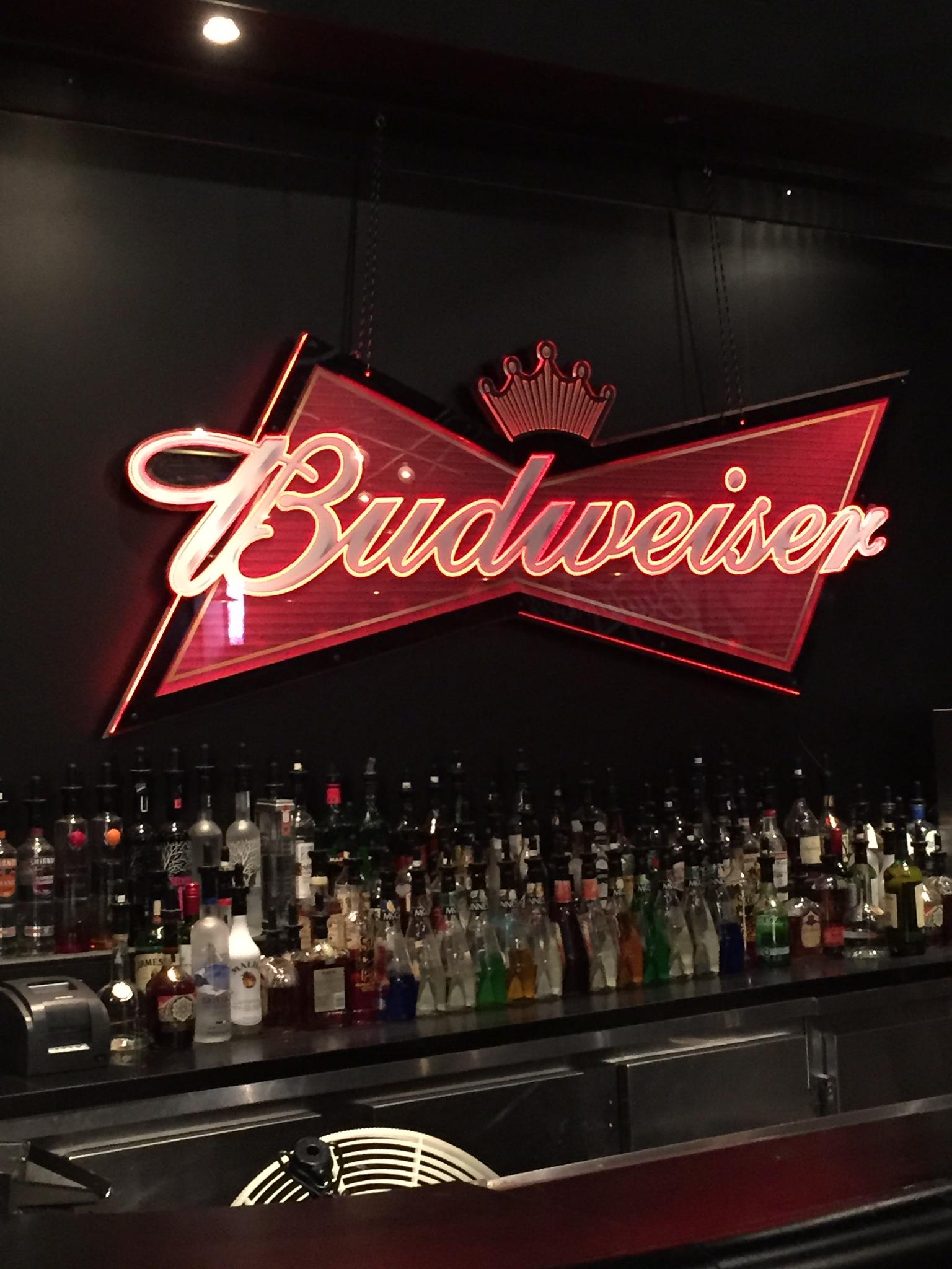 Budweiser Light-up LED sign