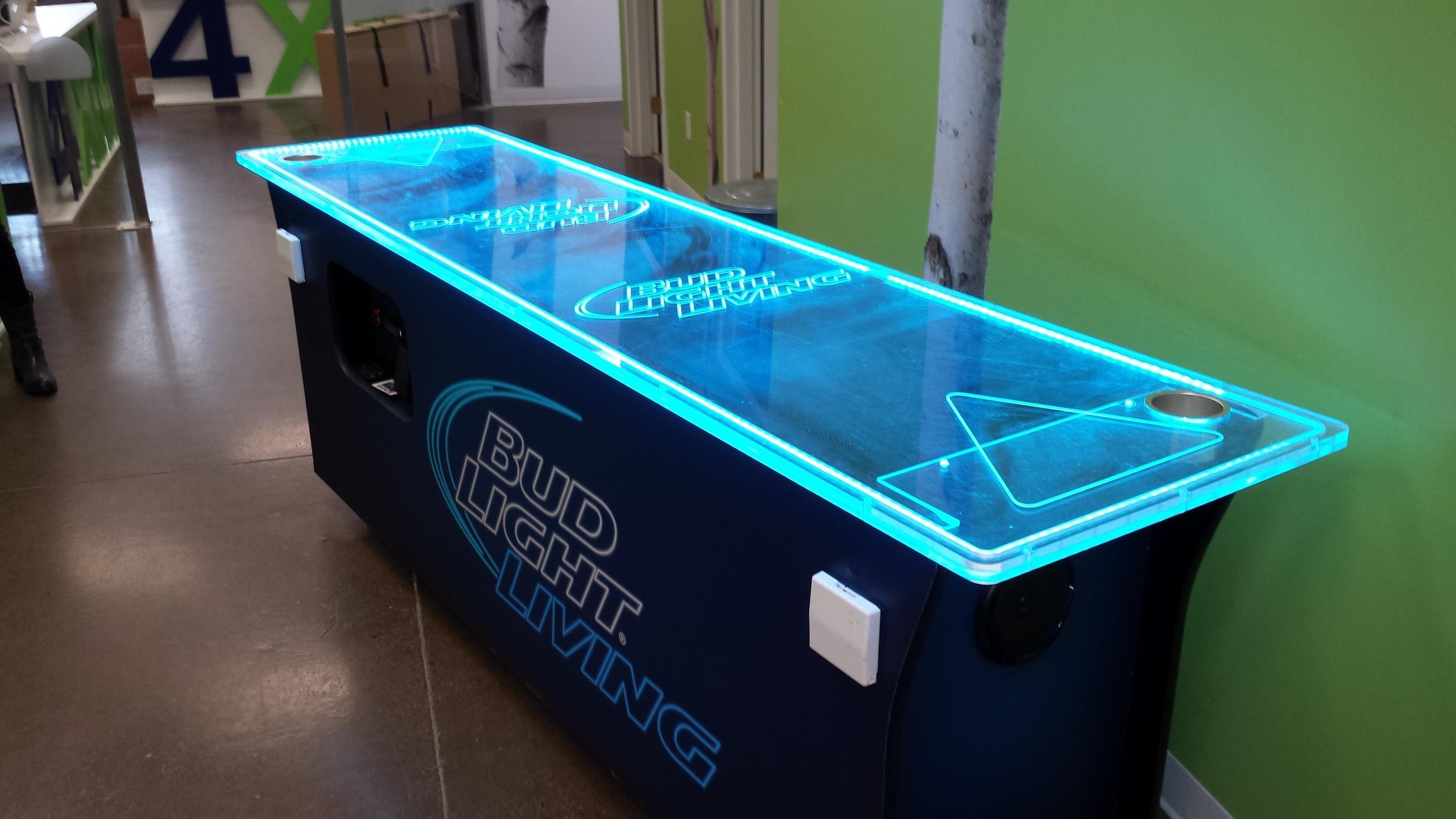 Beer pong table - Bud Light Living