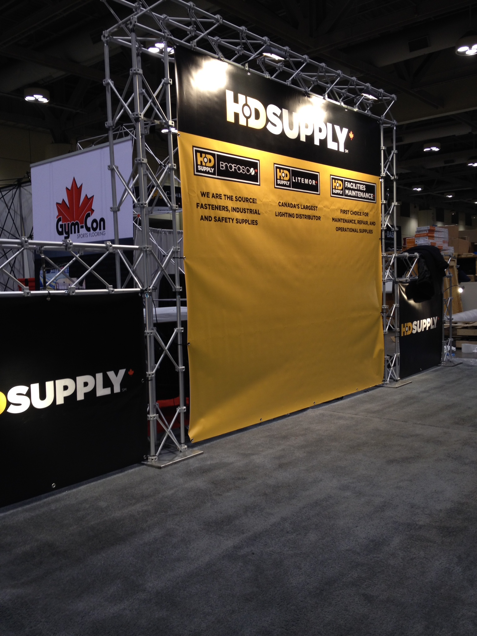Trade show booth space - HD Supply