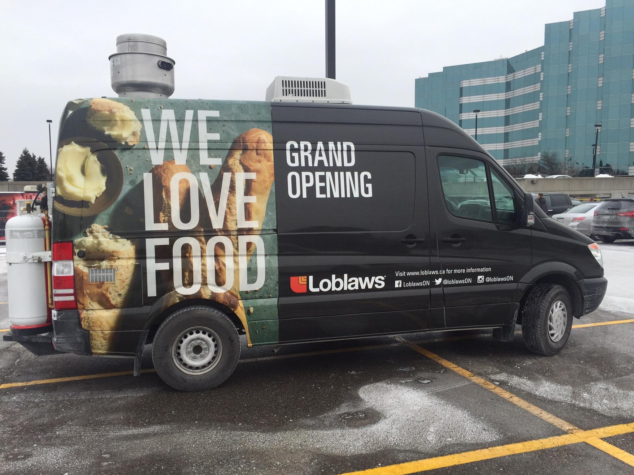 Food truck wrap- Loblaws