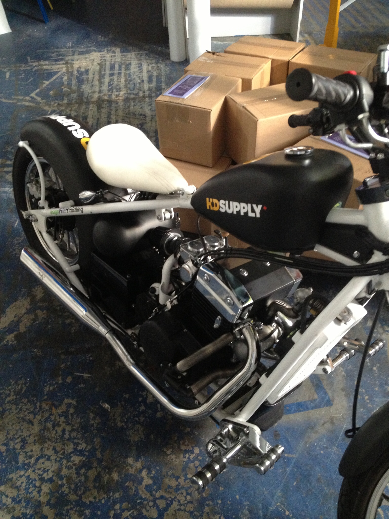 Motorcycle wrap - HD Supply