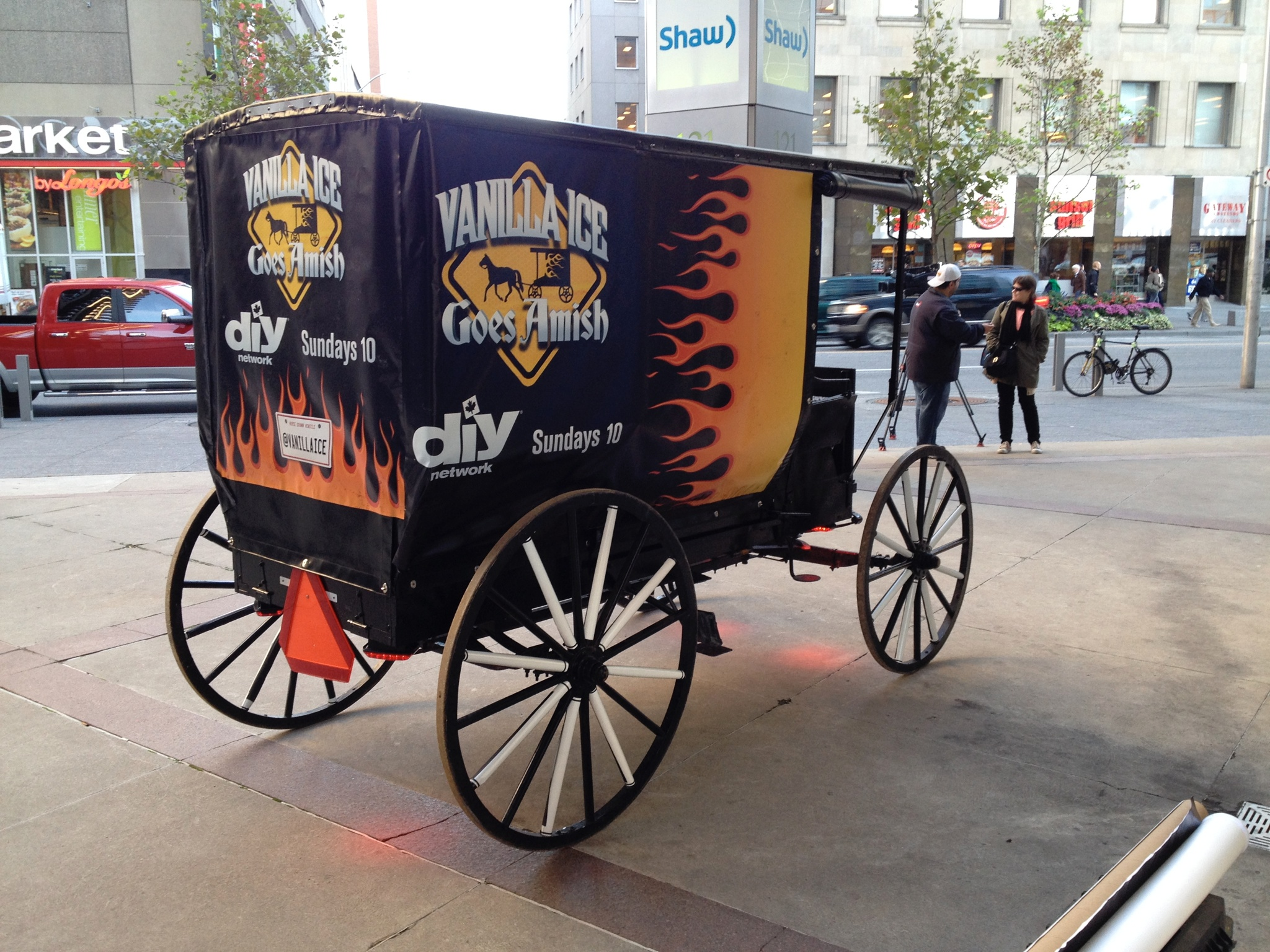 Wagon vinyl wrap