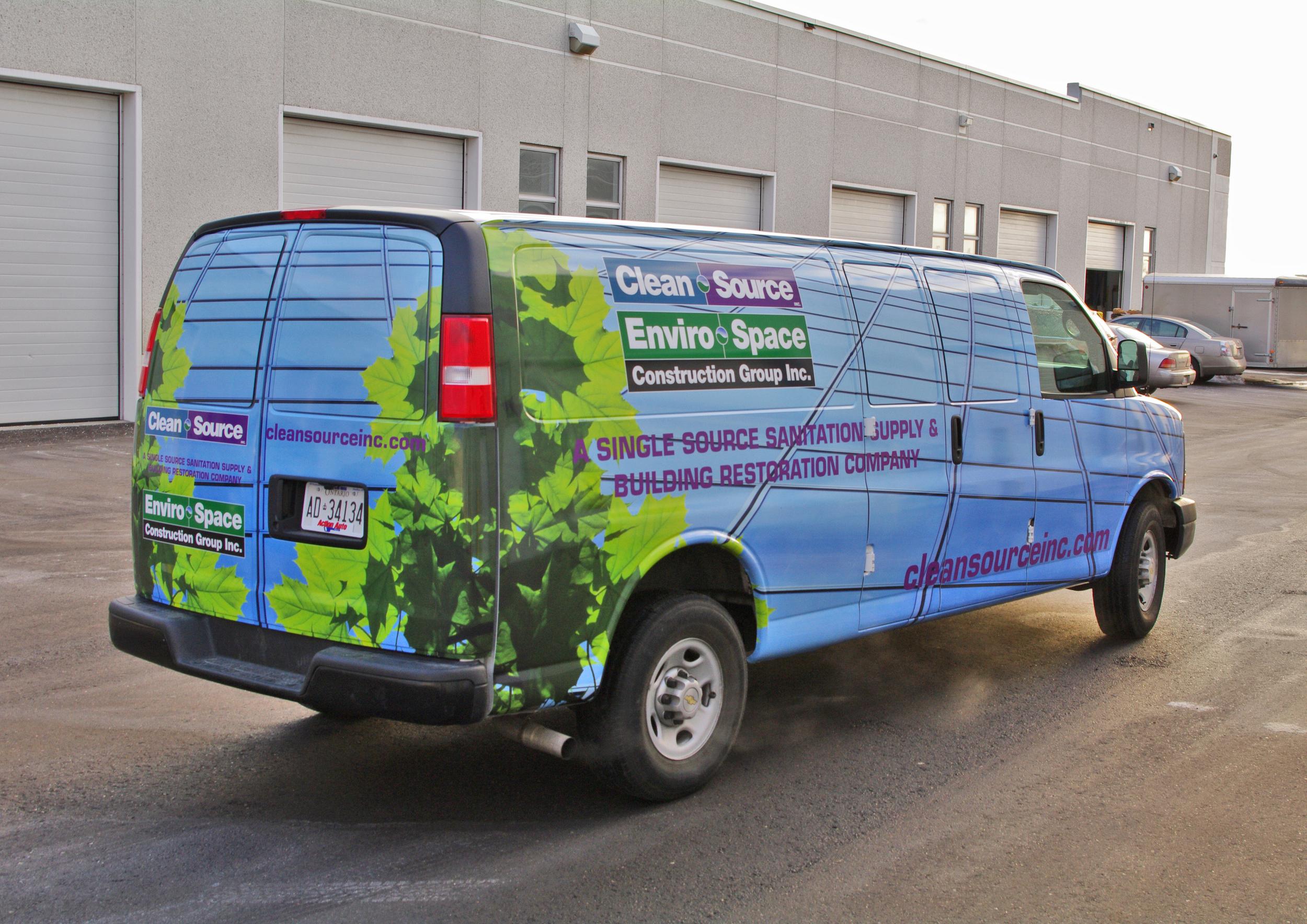 Van wrap - Clean Source