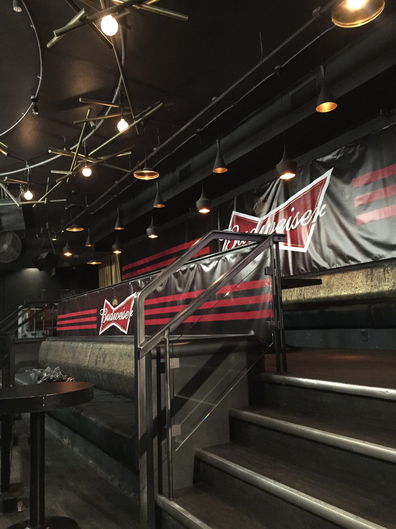 Scrim banners - Budweiser Made for Music