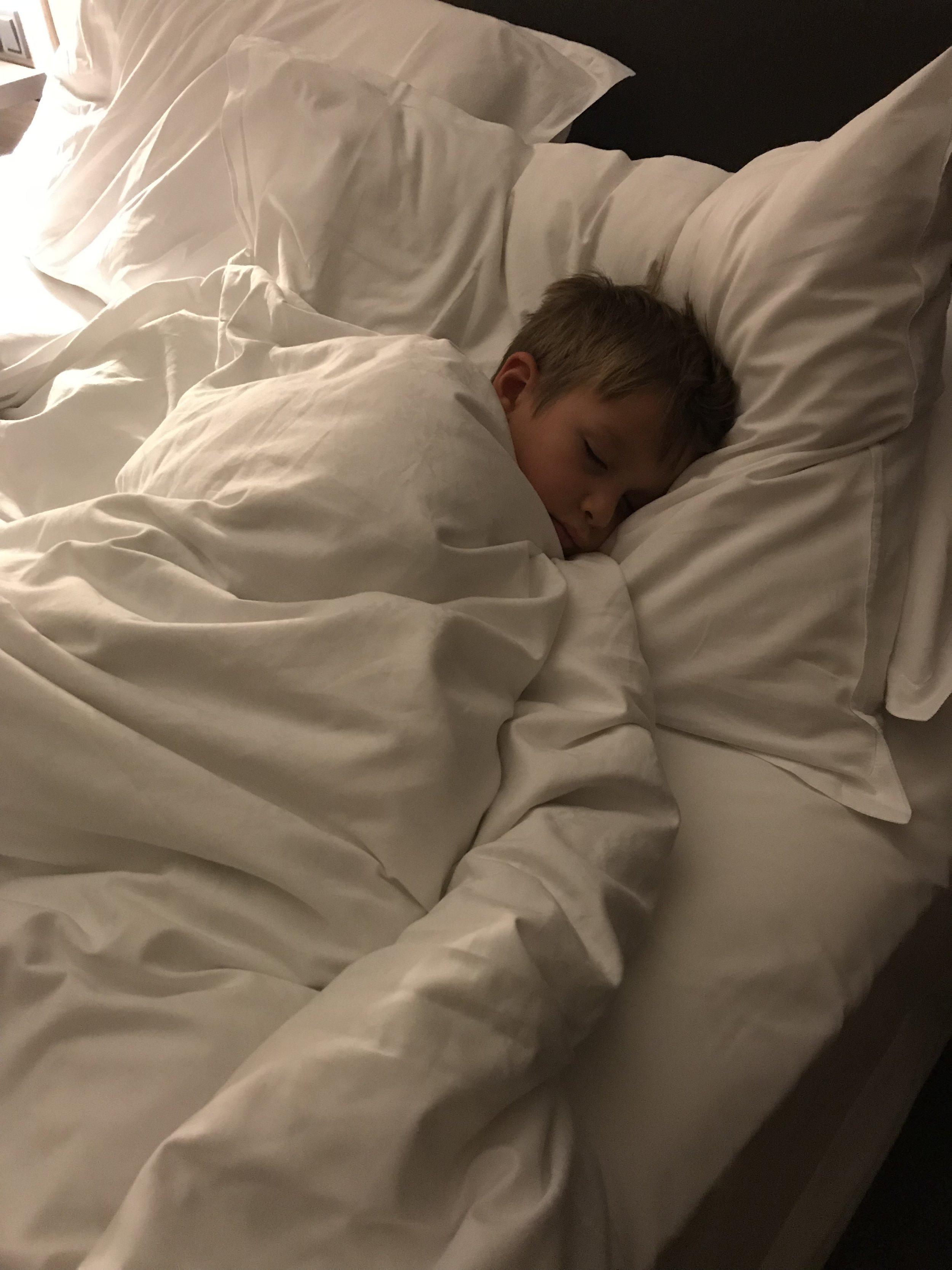 Soft pillows and crisp sheets. 📷 Rikke Hjuler
