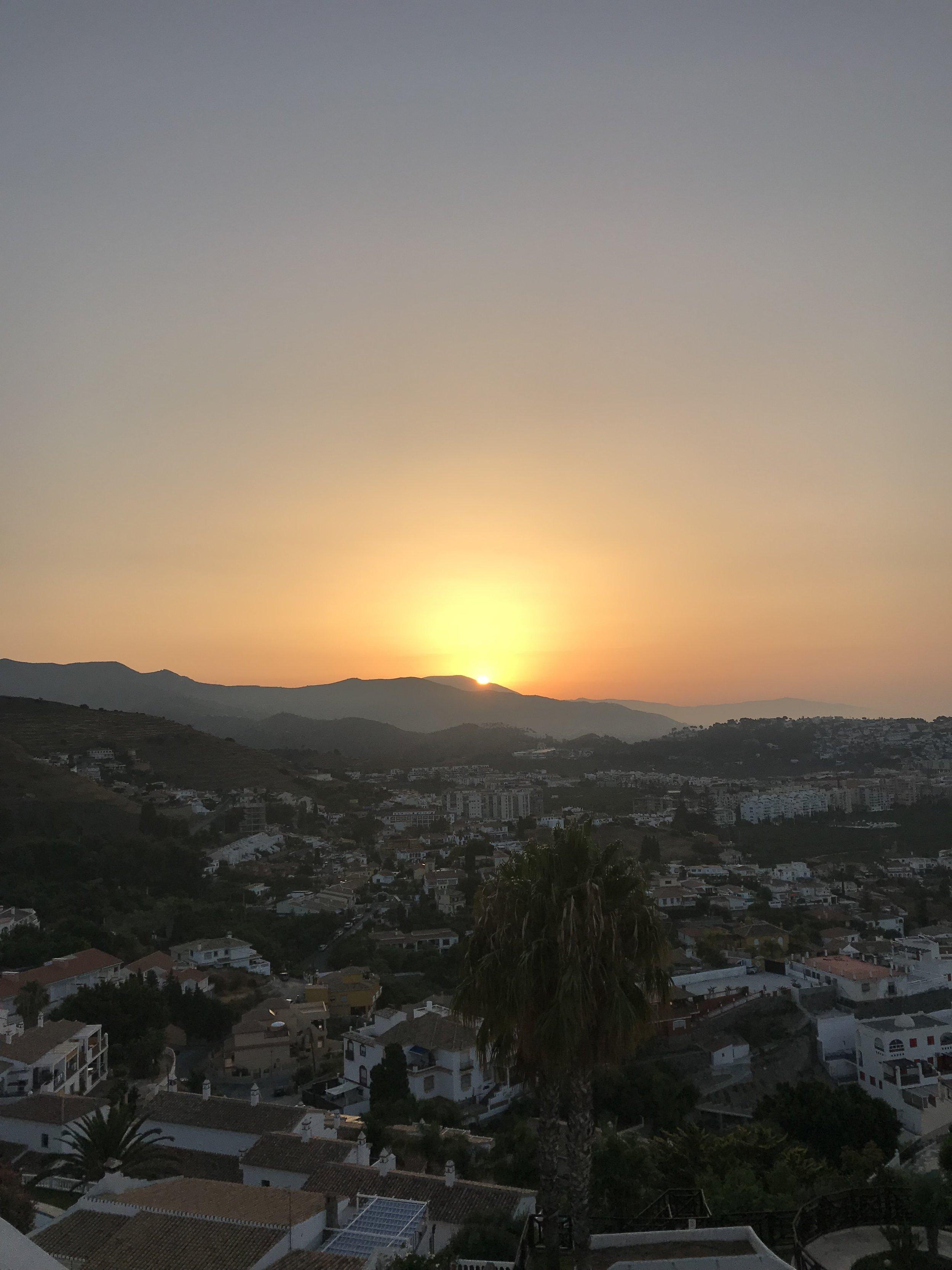 Rembering the beautiful mornings in Almuñecar