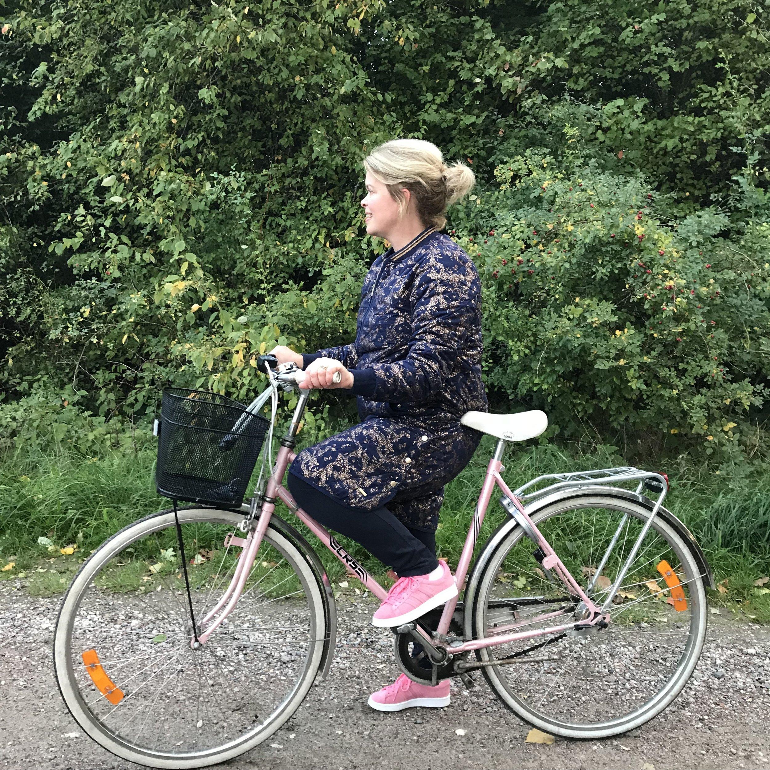 Bike love. 📷 Rikke Hjuler