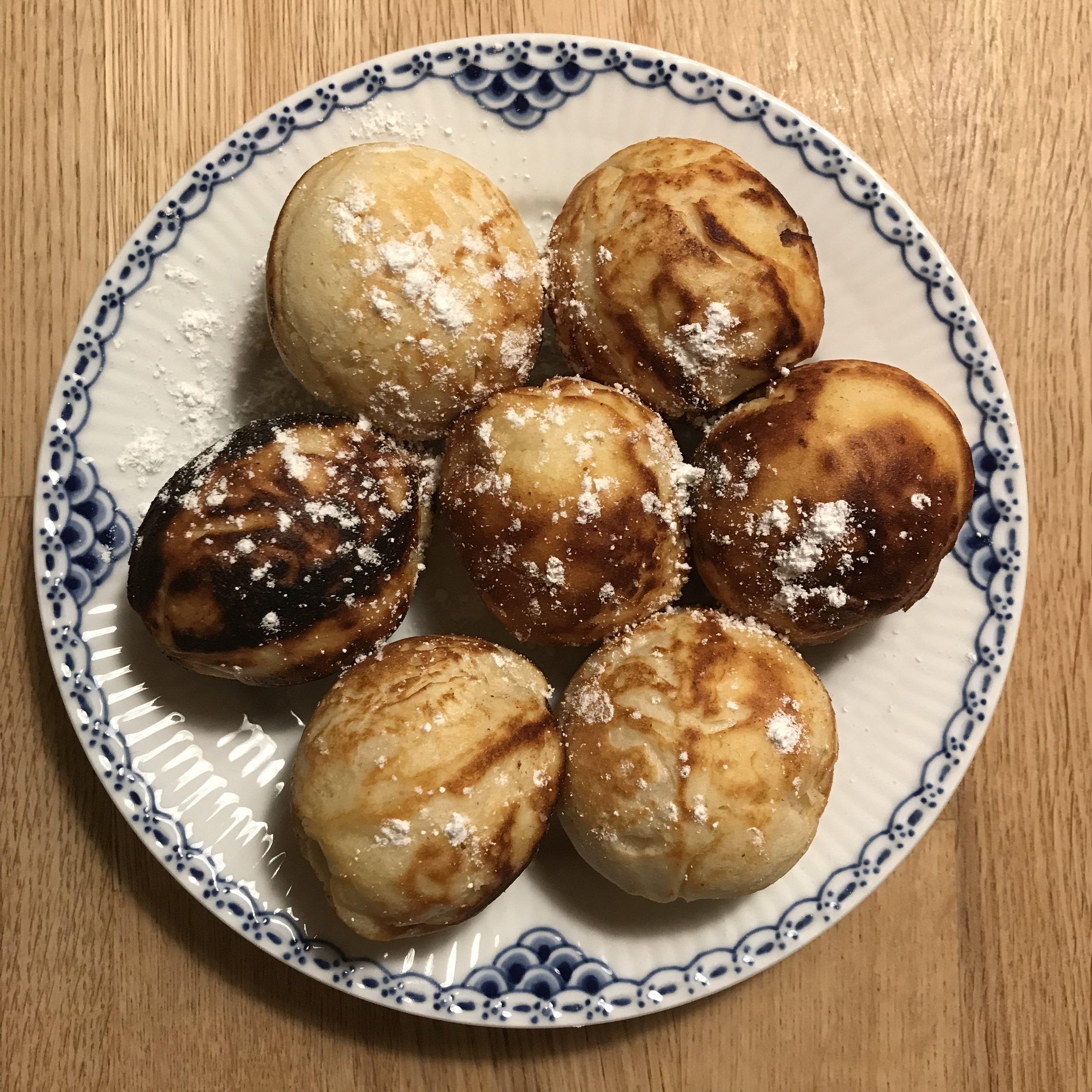 Danish pancake balls - æbleskiver
