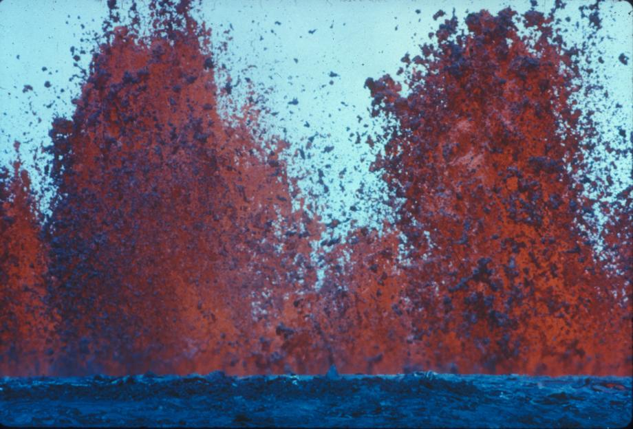Kilauea Volcano, Big Island Hawaii, Summer of 1994, GT's Area of Creative Interest