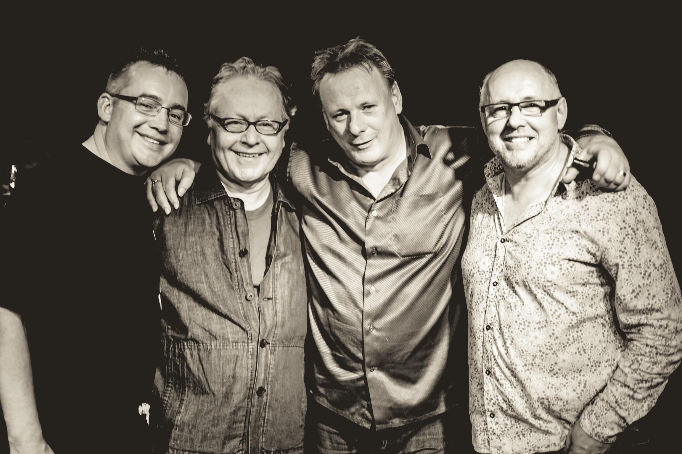 DGN with Mickey Murphy, Paul Brady andTony McManus