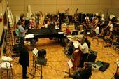 Rehearsal with the RTE Concert Orchestra