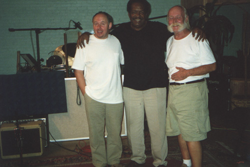 H.B, Seleno Clarke & Wadham at New York recording Session