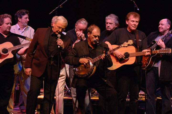 Don Baker, Finbar Furey, Pete St. John, Francie Conway...at benefit for the Stardust