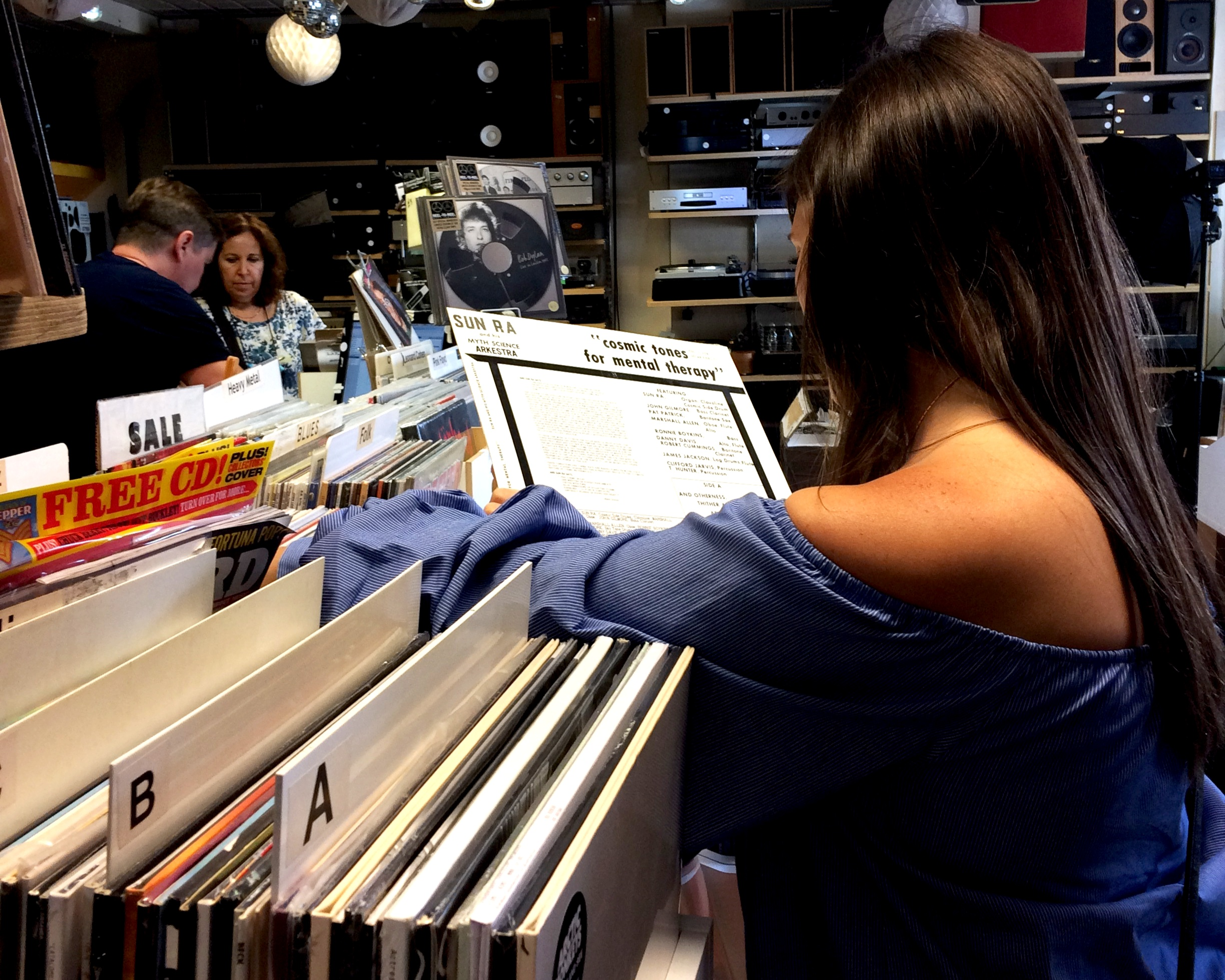 Michelle digs deep into the record stacks in London