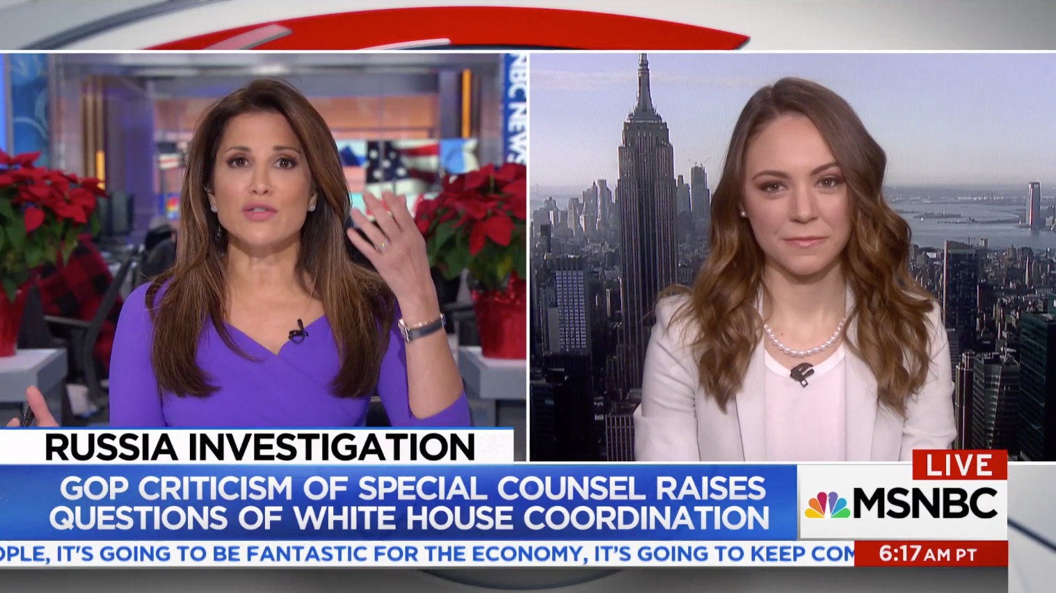 Natasha Bertrand expands on her new report that describes contacts between President Trump and several prominent Republican critics of special counsel Bob Mueller's Russia probe. Is this a new strategy for the White House in managing the Russia question?