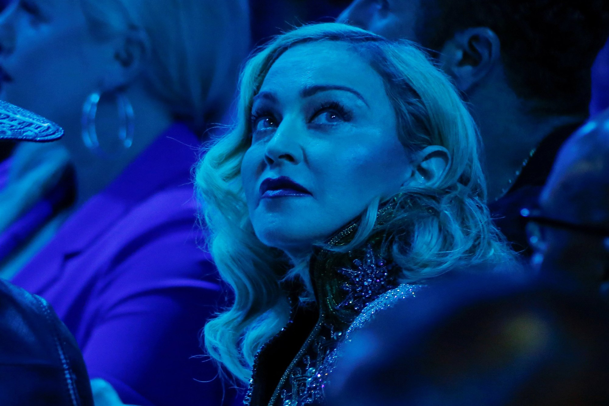 Madonna spoke to me after she delivered an emotional acceptance speech at the 30th annual GLAAD Media Awards, where she received the Advocate for Change award.