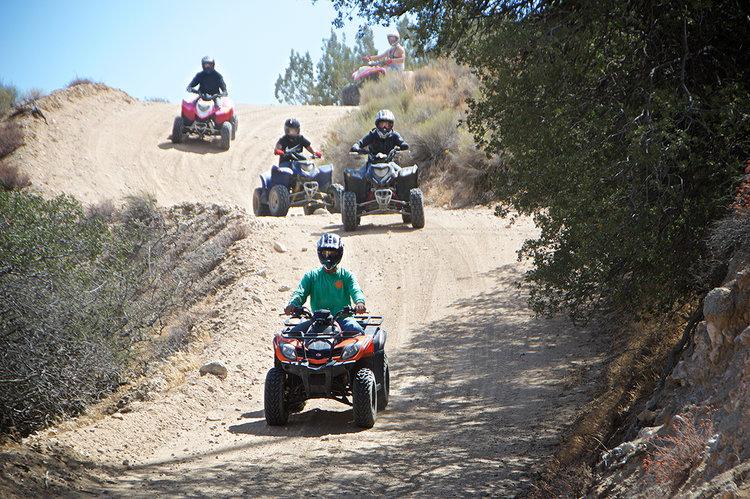 Hungry Valley / Los Angeles — ATV Tours Rentals CA & TX Los