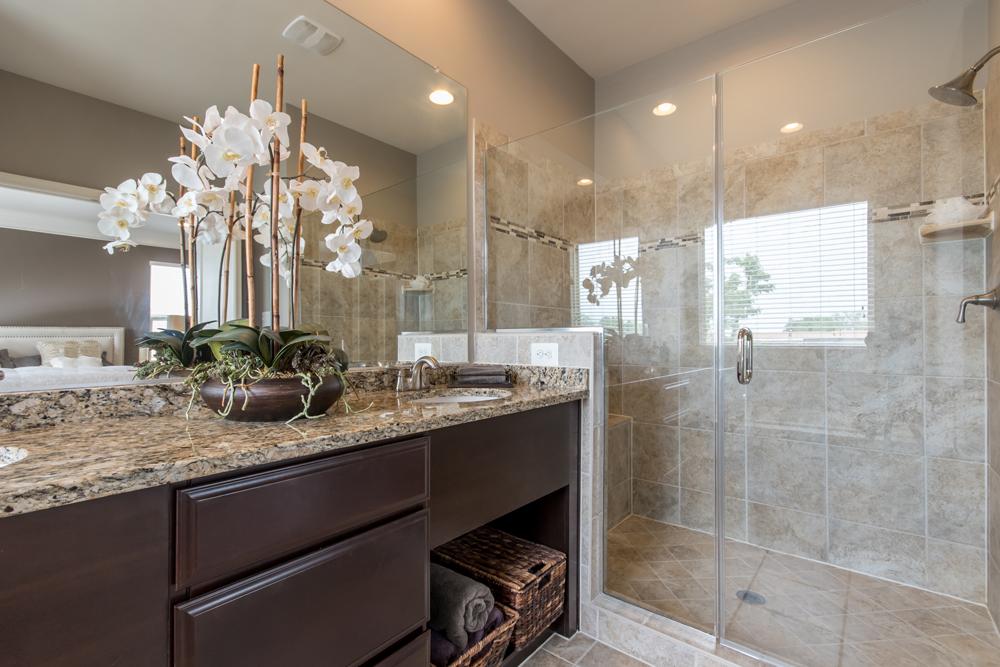 Master Bath huge shower