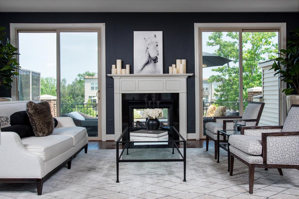 Living Room Ashburn Virginia