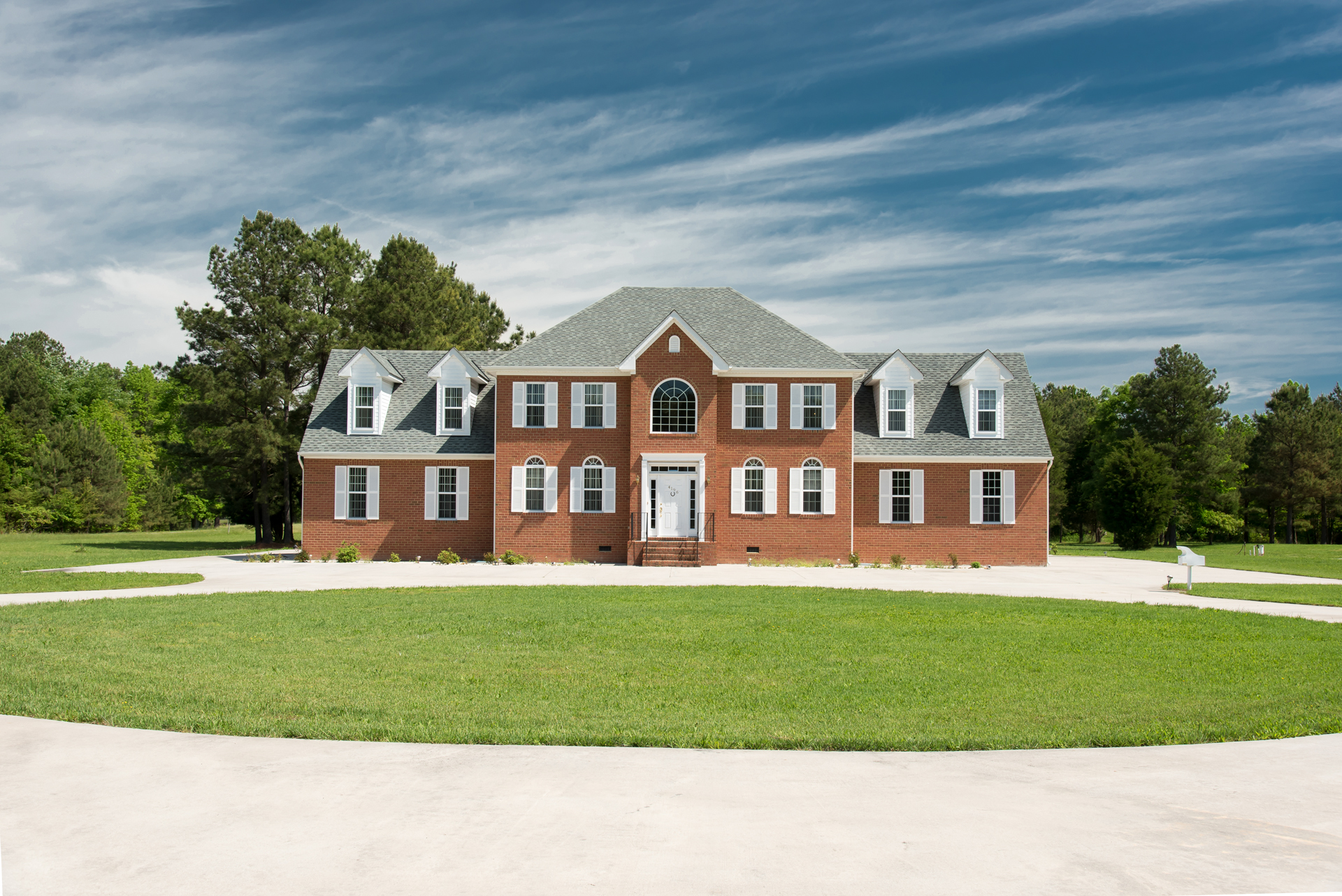 4196 Charles City Rd. Beautiful brick traditional with 15+ acres. Click the photo for a tour of this exquisite property.