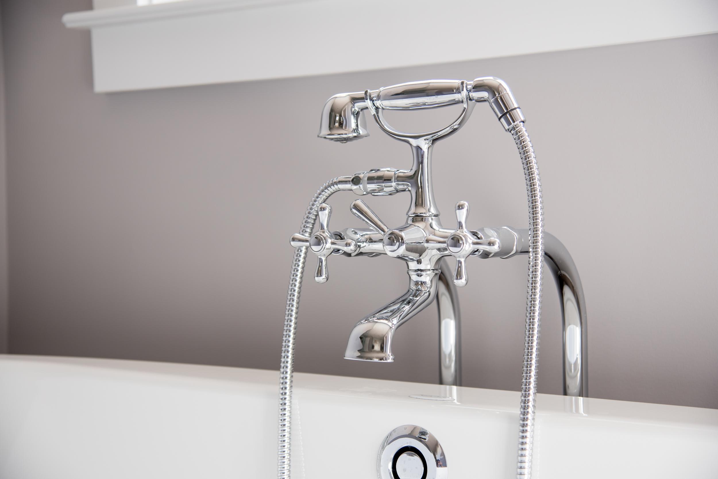 Detail photograph of Plumbing fixture