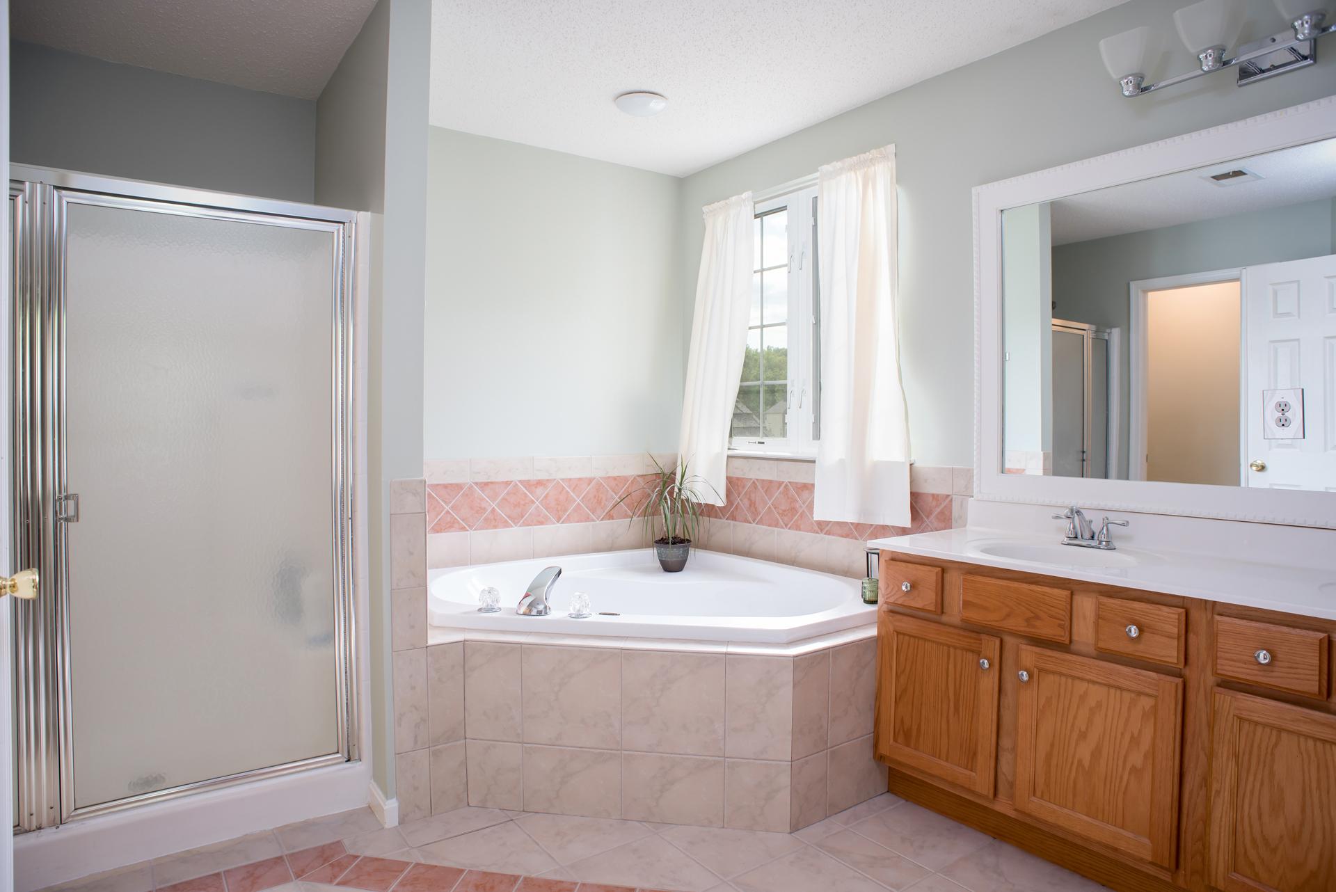 Remodel of Tri-Level Master Bath