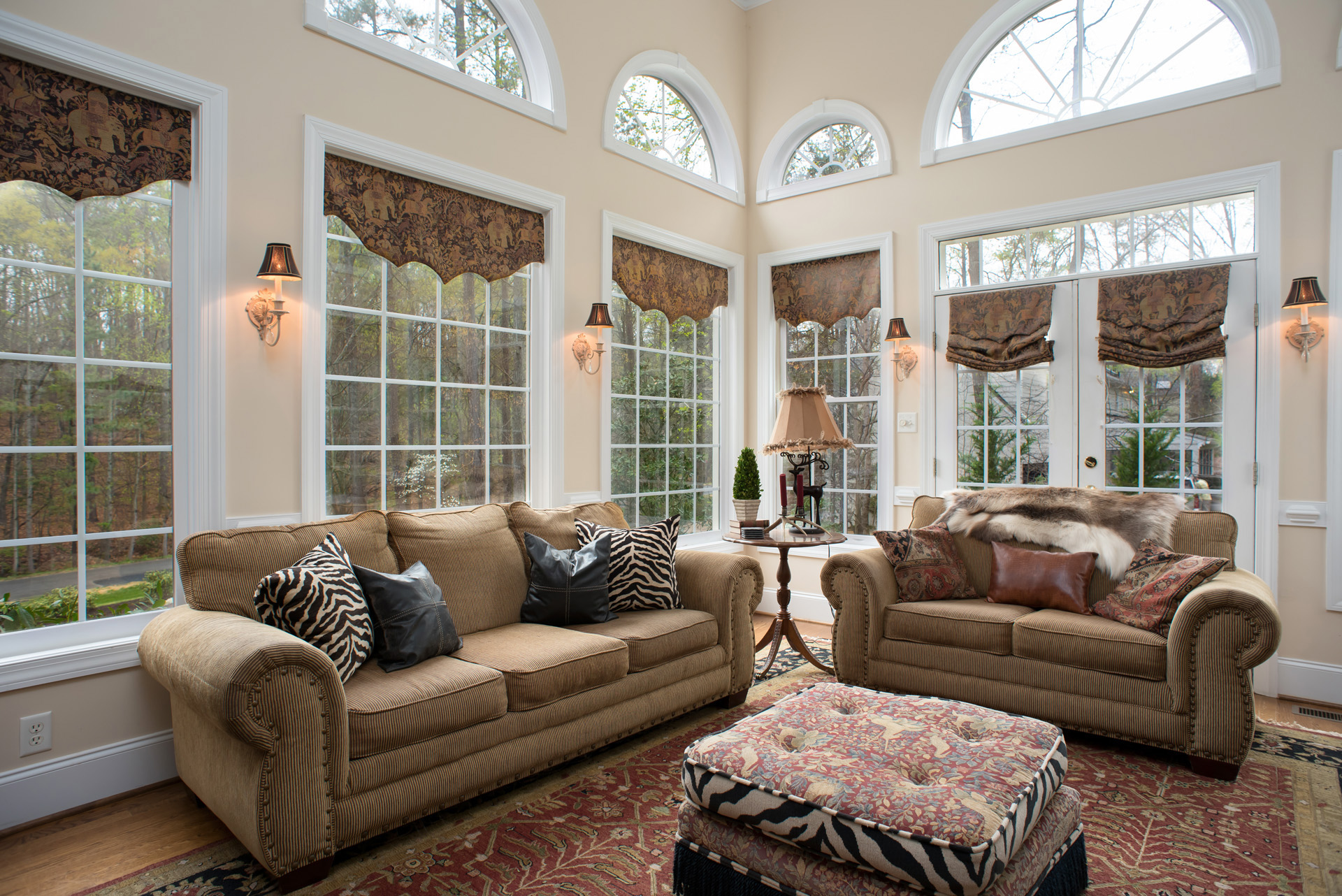 Family Room Decor and Design Photography