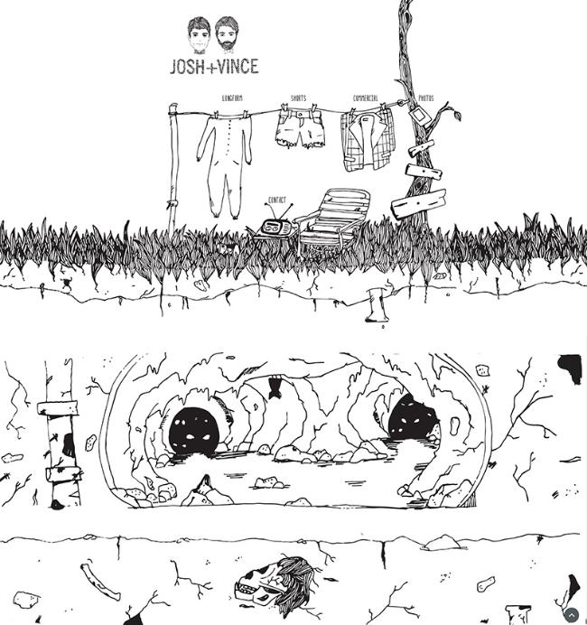 Illustrations for joshandvince.com