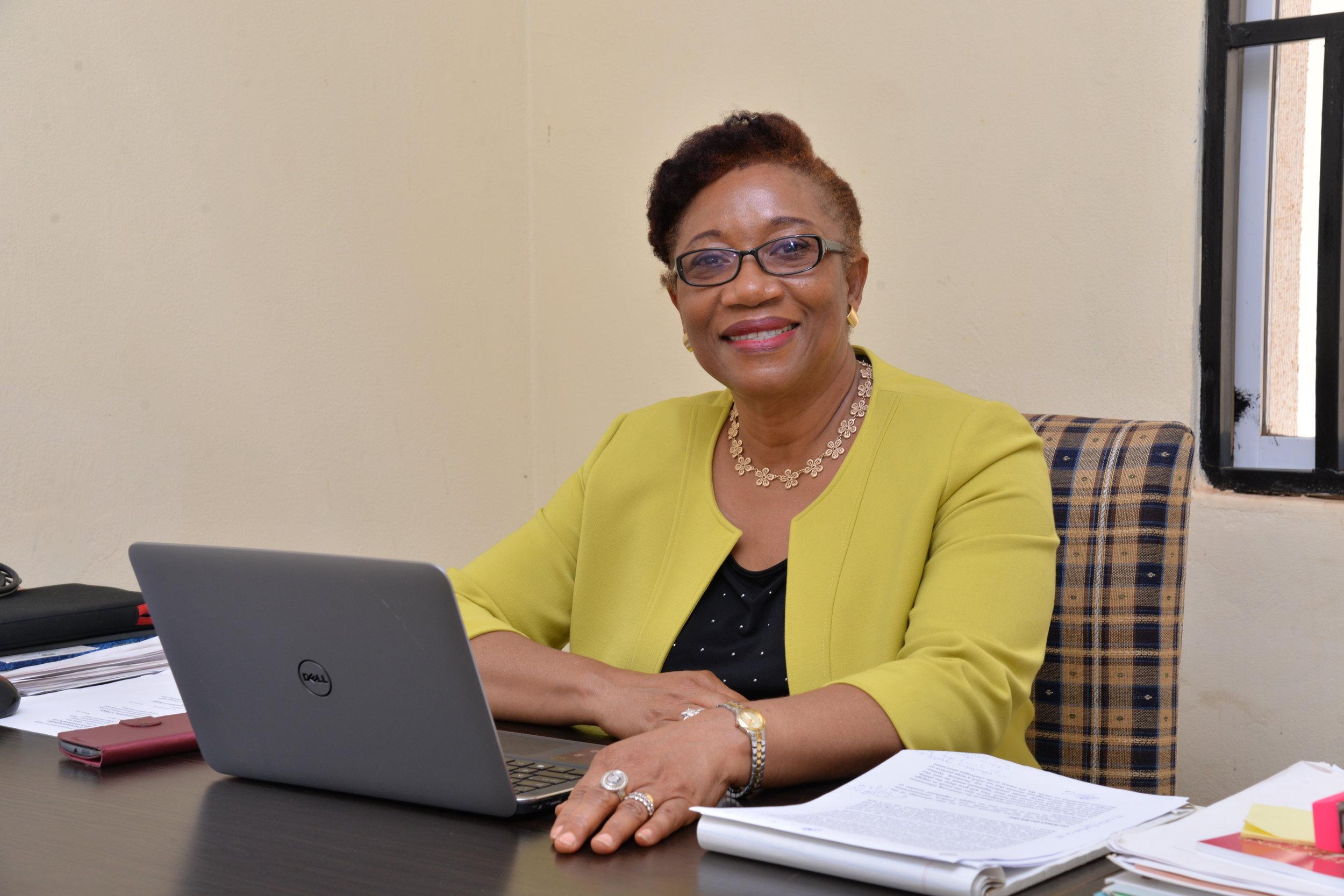 Dr Kechi Ogbuagu  -  President/Founder