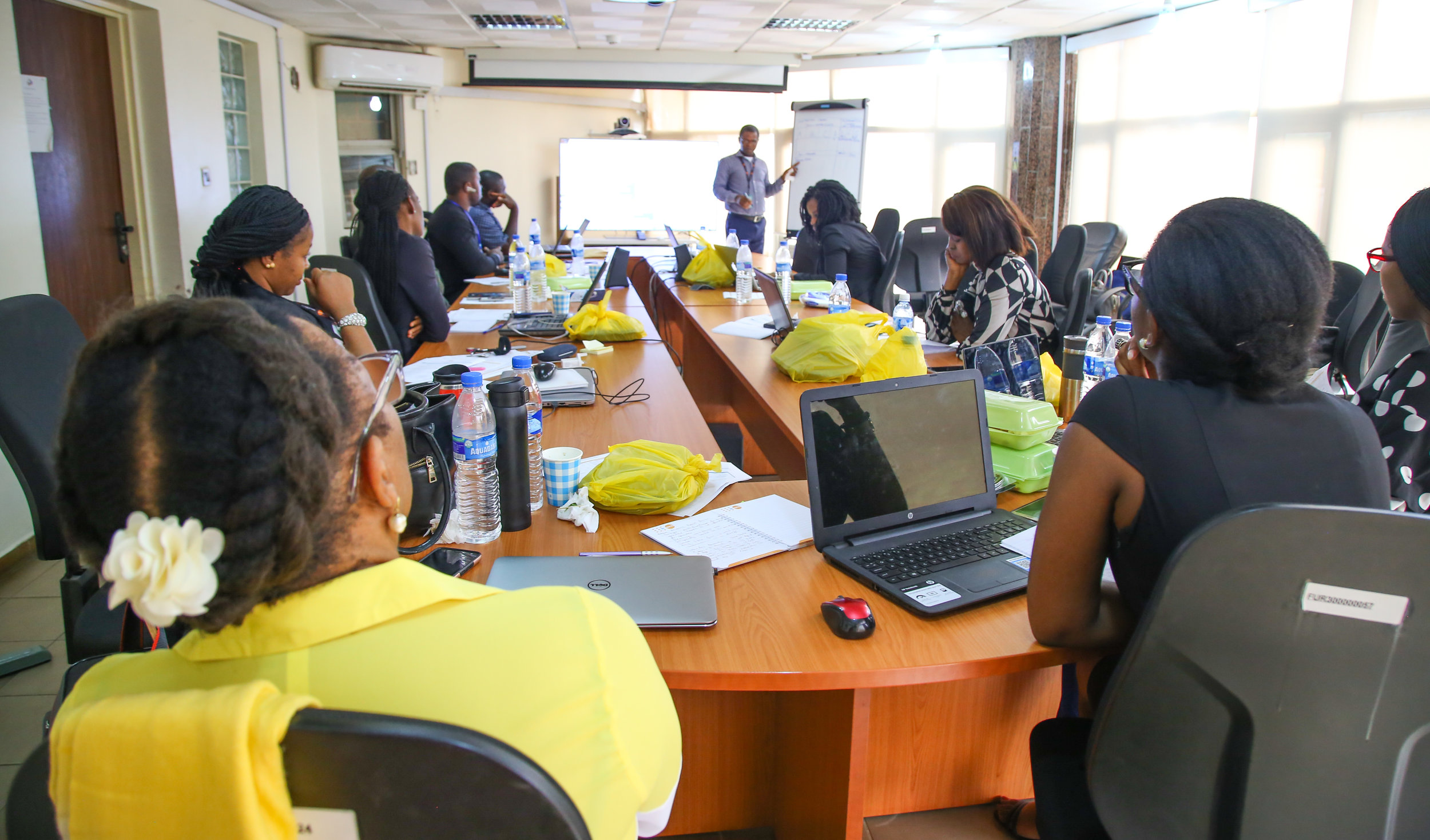 C4C team during the UNFPA Financial and Programme Management Training For Implementing Partners