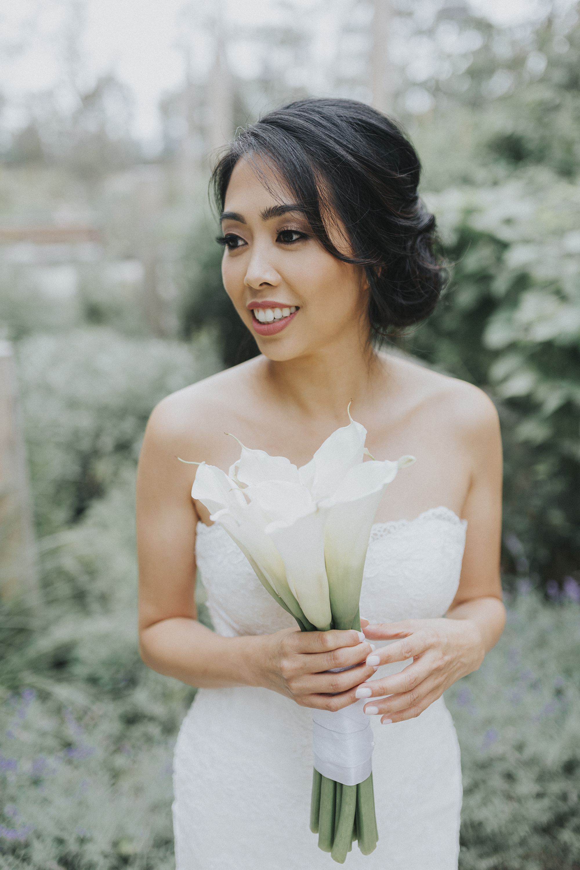 The gorgeous bride, Julie ! Beautiful makeup by the talented  Tianna Tran
