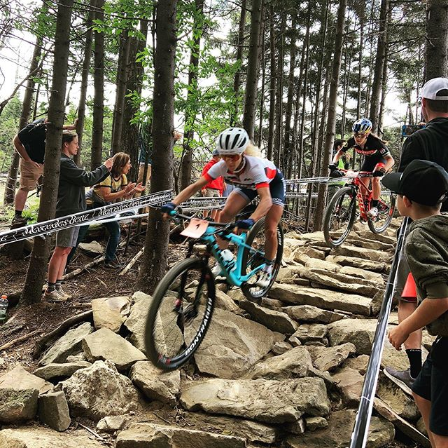 #uciworldcupxco #snowshoe @jolandaneff @kateplusfate @paulineferrandprevot @mtbanne @annielast1 @jennyrissveds @becmcconnell @chloewoodruff Thanks for visiting the mountain state and leaving it all on trail.