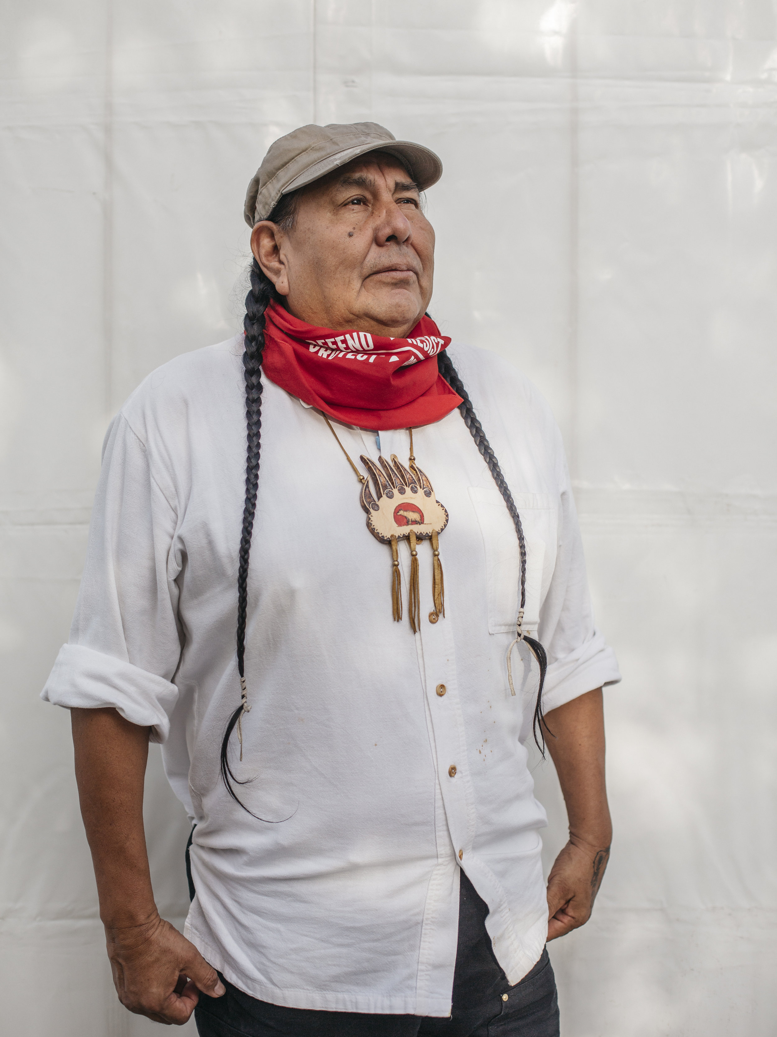 Tom Goldtooth, Executive Director of the Indigenous Enviromental Network.