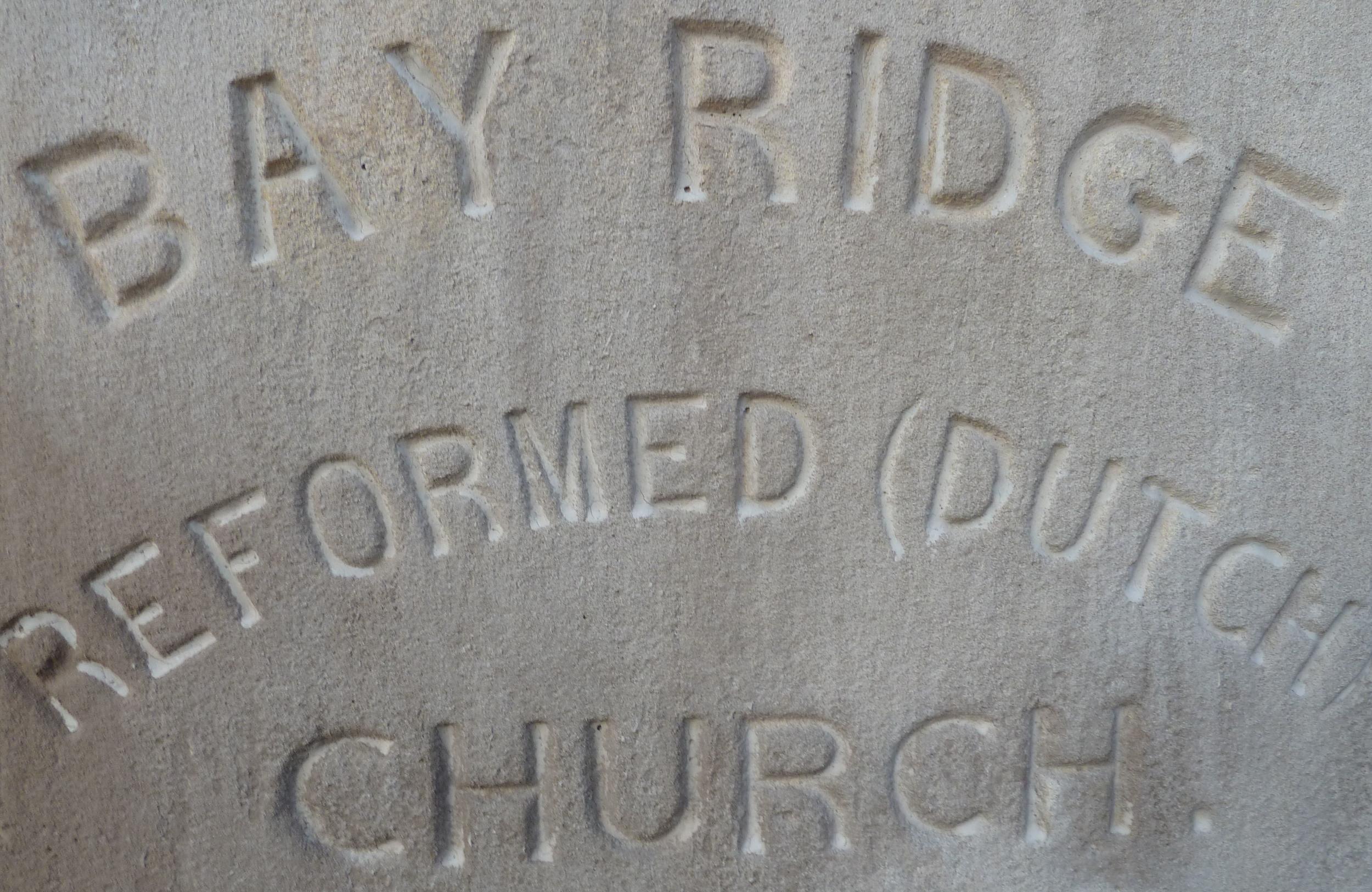 church cornerstone, 1896