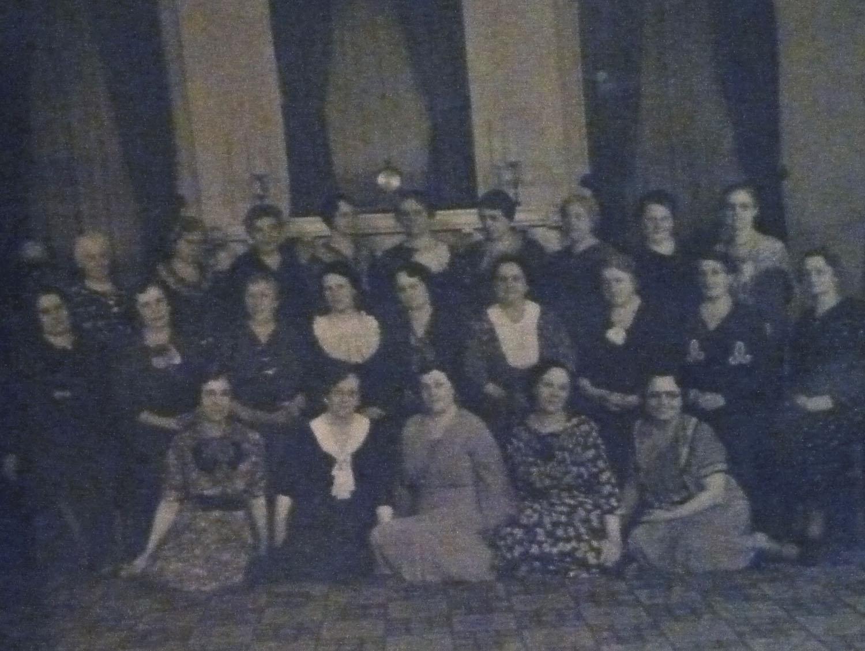 the women of Union Church, first part of the twentieth century