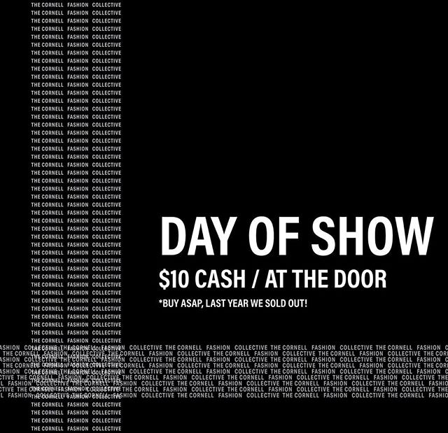 HAPPY DAY OF SHOW! Tickets at the door are $10 CASH ONLY! 💫 See you at 7! 🖤🖤🖤