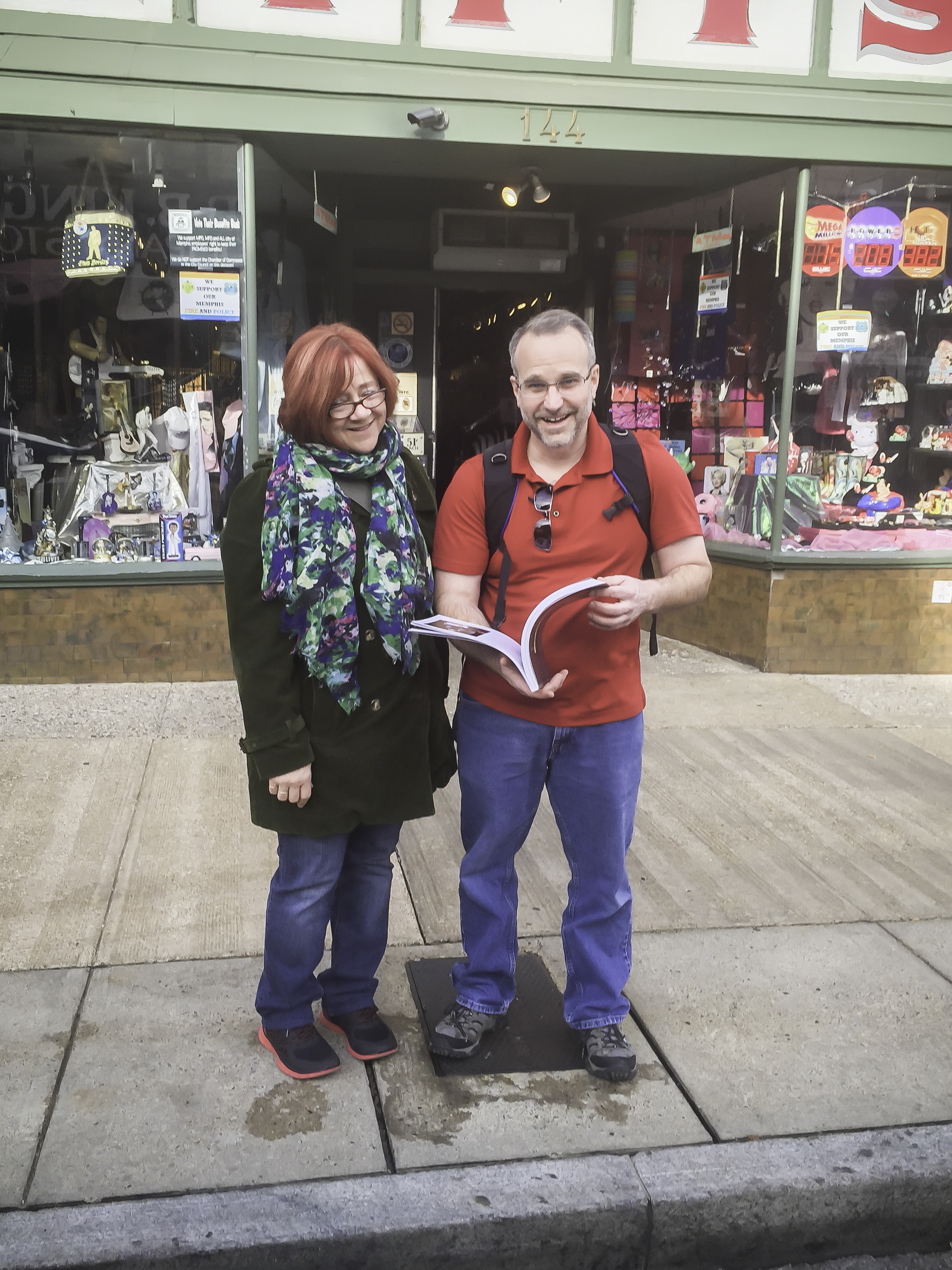 Pat Pepin and Kelly Thornton