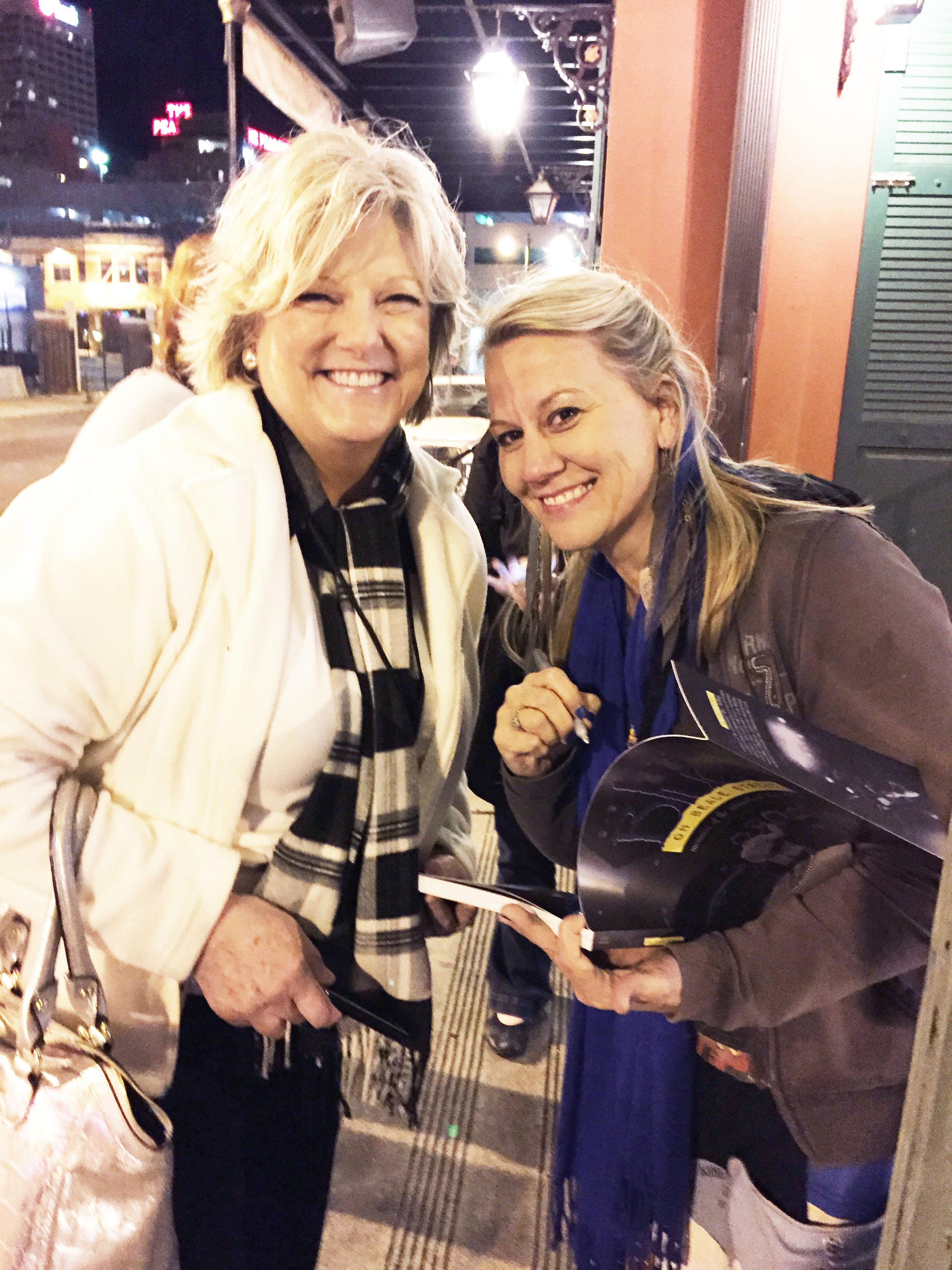 Shirley Waring and Jenn