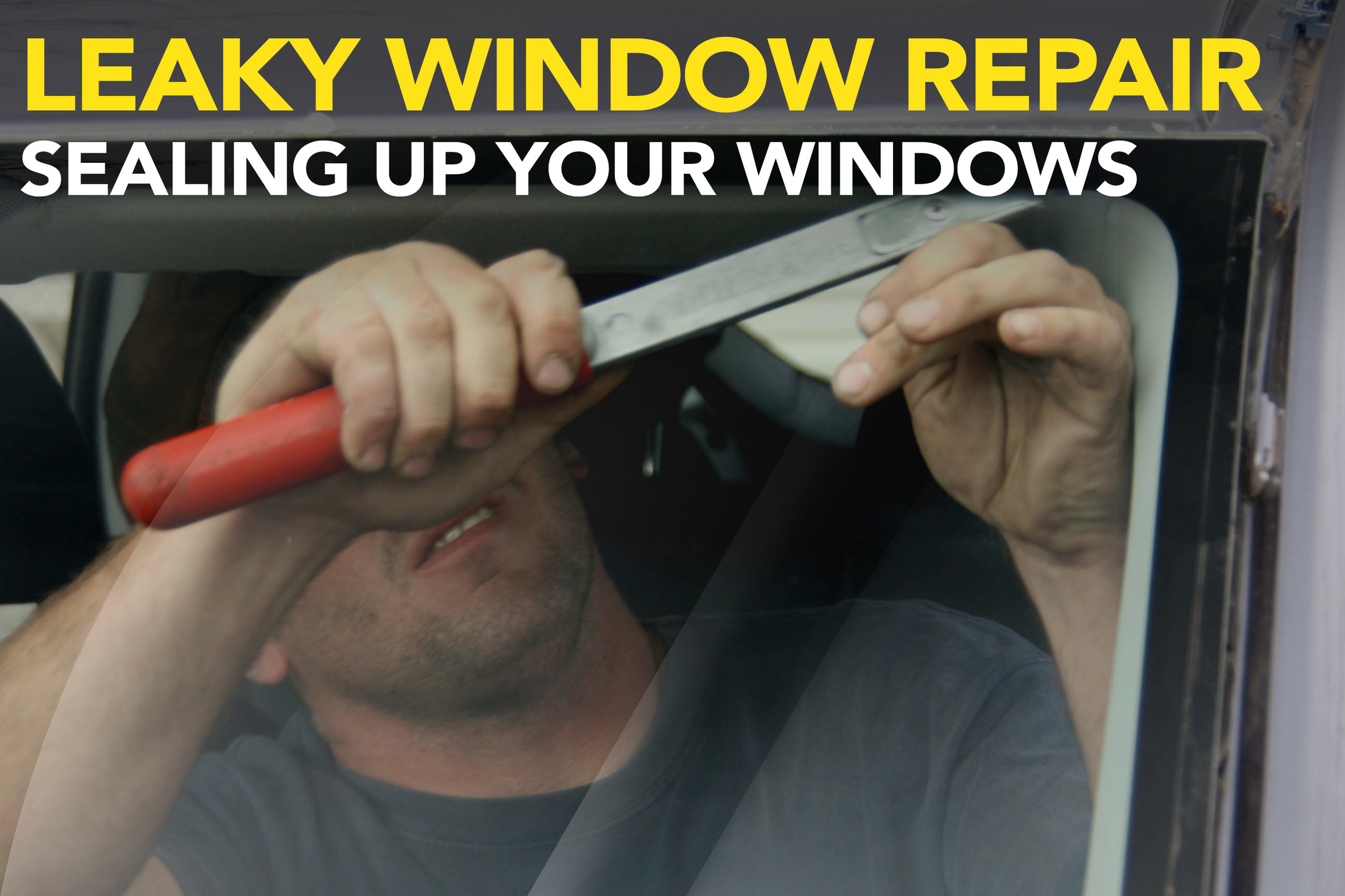 Leaky Window Repair