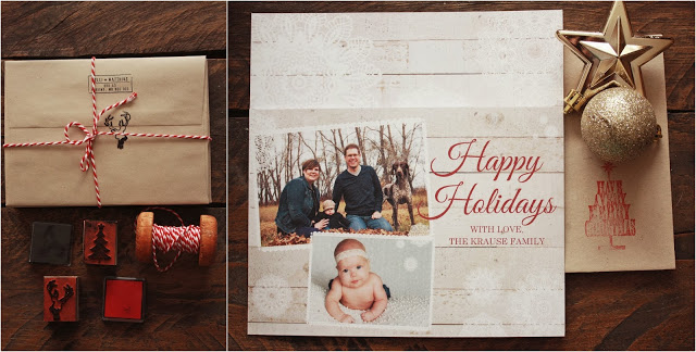 krause family holiday cards