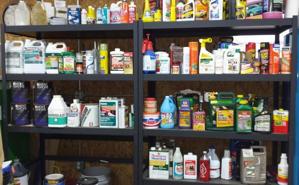 Hazardous materials reuse area