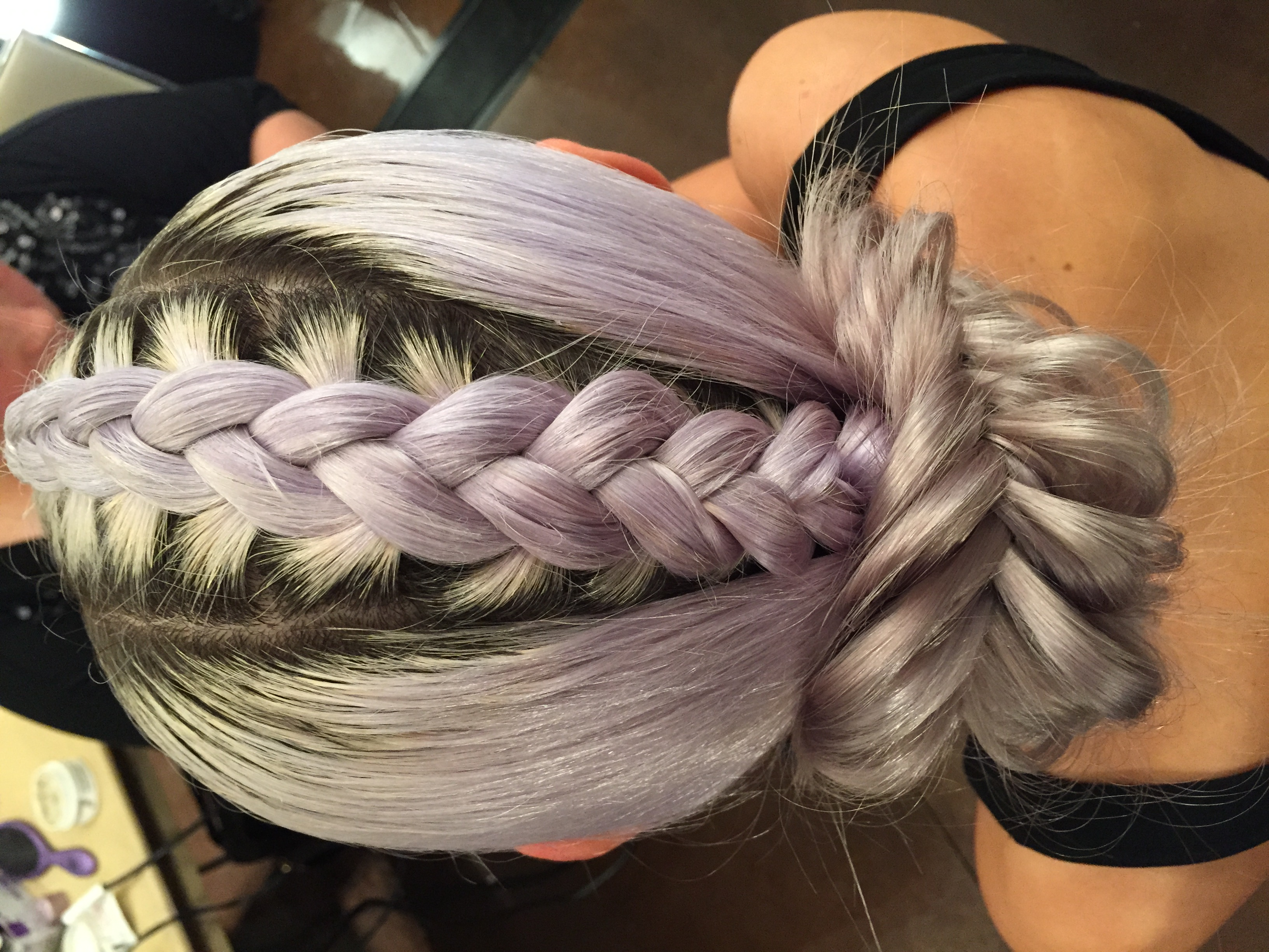 summer braid fishtail plait