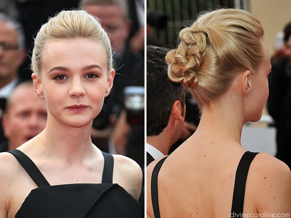CAREY MULLIGAN KNOTTED UPDO