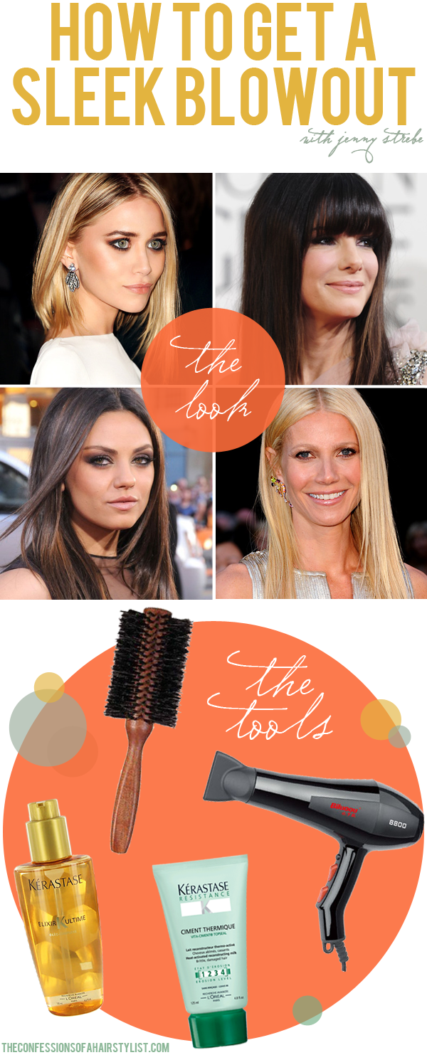 HOW TO GET A SLEEK BLOWOUT