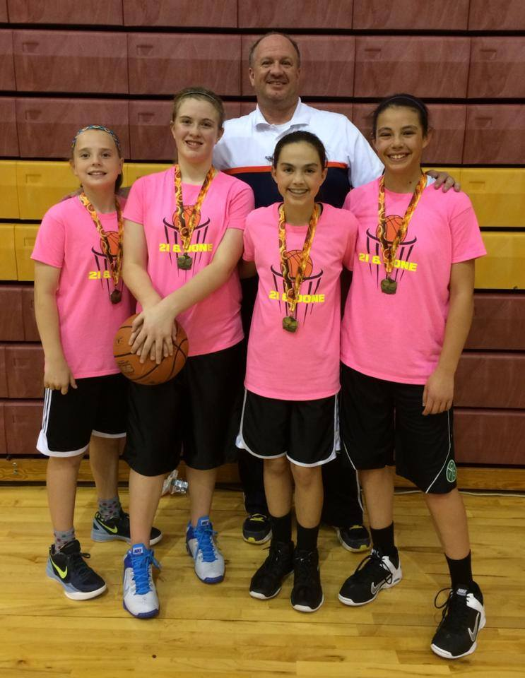 "DSYSA / DS Kids Fun Foundation ""Trip to Drip"" Annual Basketball Fundraiser 1st Place Girls' Team"
